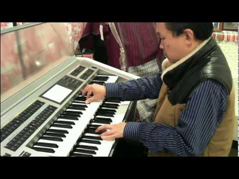 Unchained Melody Classical Version on Yamaha STAGEA ELS-02X Adelaide