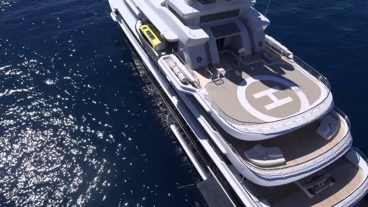 My Luna The World S Largest Expedition Superyacht For Charter