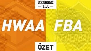 HWA GAMING A ( HWAA ) vs 1907 Fenerbahçe A ( FBA ) Maç Özeti | 2019 Akademi Ligi 5. Hafta