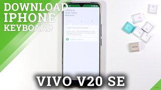 Download Green Apple Keyboard App – iPhone Keyboard on VIVO V20 SE