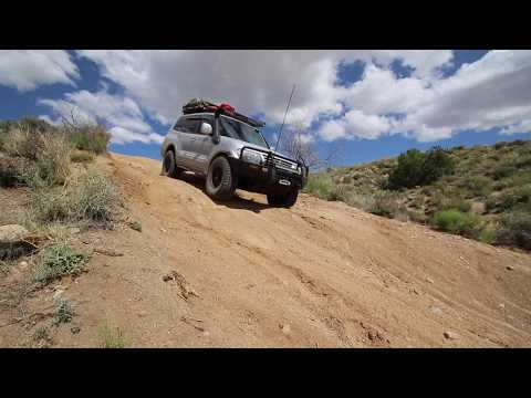 Overland trip through Utah, Arizona, California 2017