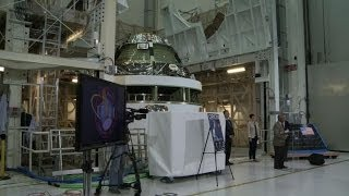 NASA unveils Orion spacecraft, set to explore deep space