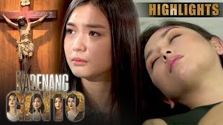 Cassie, ipinagdasal ang kaligtasan ng kanyang Ina | Kadenang Ginto (With Eng Subs)