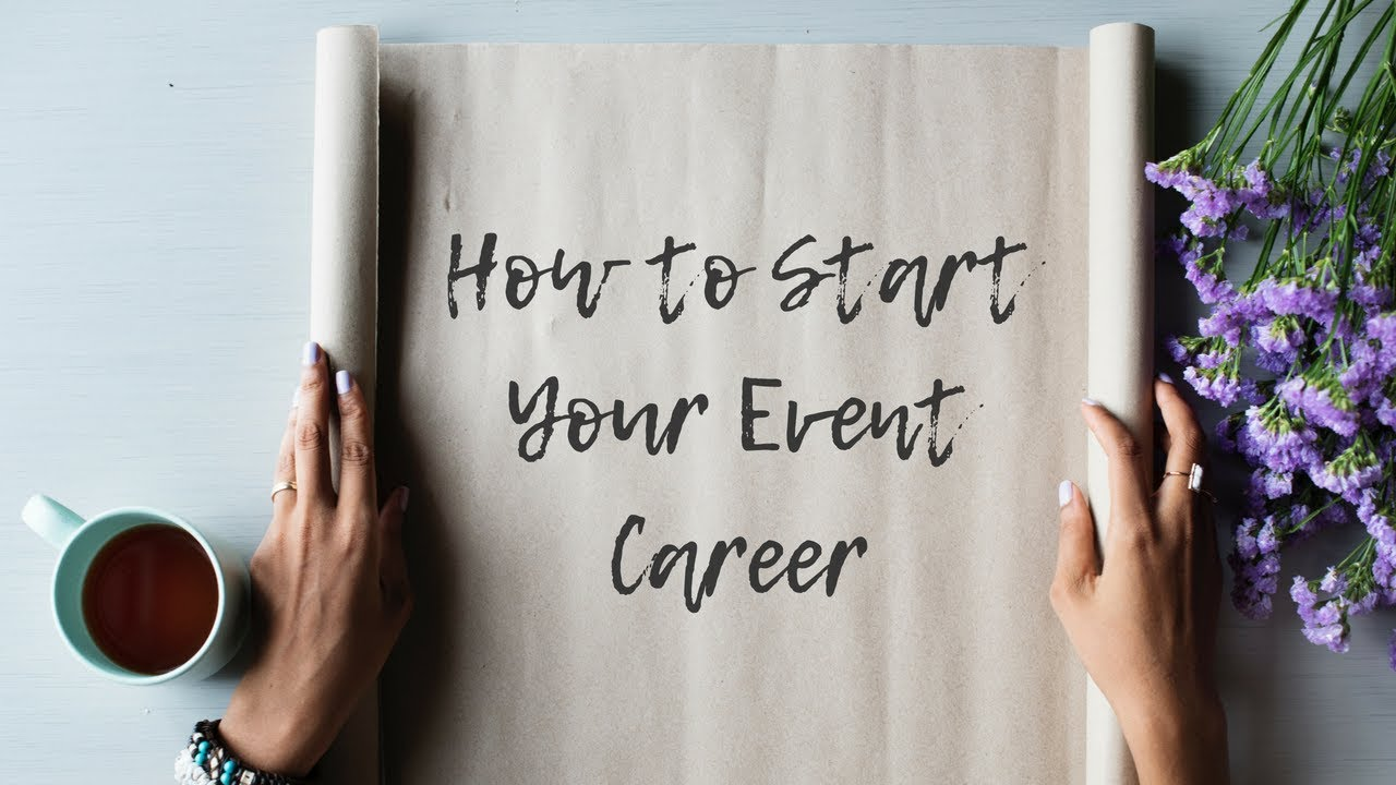 Download How To Start Your Event Career - Full Training!