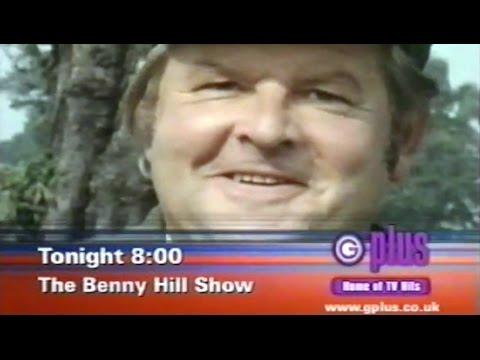 Benny Hill - Granada Plus (now ITV3) Advert & Continuity 1 (1999)