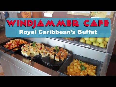Royal Caribbean's Windjammer Cafe Buffet
