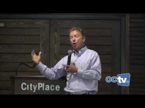 Rand Paul Q&A on Social Security, Medicare, and Gun Control