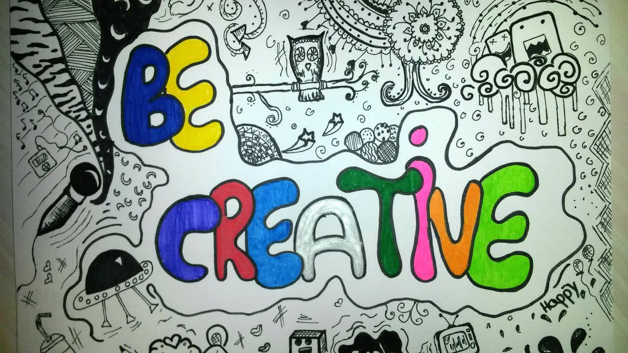 Draw Graffiti Be Creative Doodle Art Crtanje Youtube