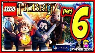 Lego the Hobbit - Walkthrough Part 6 Over Hill and Under Hill co-op (PS4)