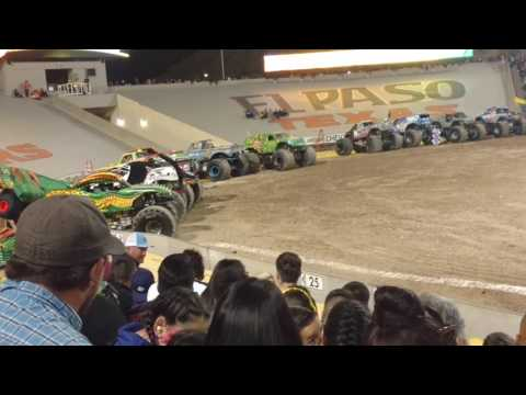 Monster Jam El Paso TX 2017 Dragon