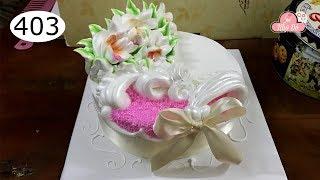 chocolate cake decorating bettercreme vanilla (403) Học Làm Bánh Kem Đơn Giản Đẹp - San Trọng (403)