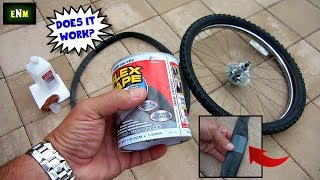 FLEX TAPE Bicycle Inner Tube Test(Pool Liners)
