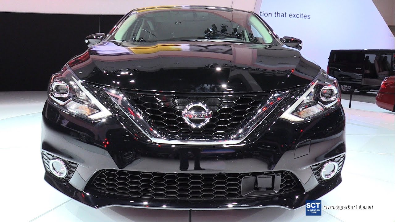 2016 Nissan Sentra Exterior And Interior Walkaround 2017 La Auto Show