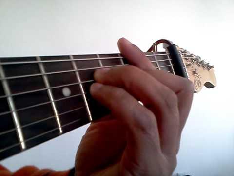 Cm Guitar Chord
