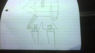 How to Draw Hinamori Amu from Shugo Chara using Stabilo Point 88 Pens