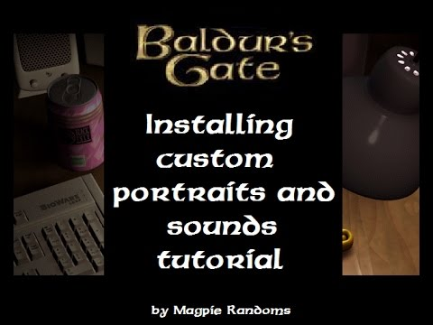 Baldur S Gate Enhanced Edition Installing Custom Portraits And