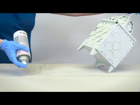 How to Video How To Apply Glow in the Dark Spray Paint YouTube