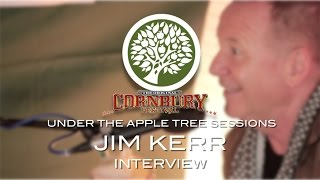 Jim Kerr (of Simple Minds) interview with Bob Harris at Cornbury Festival | UNDER THE APPLE TREE