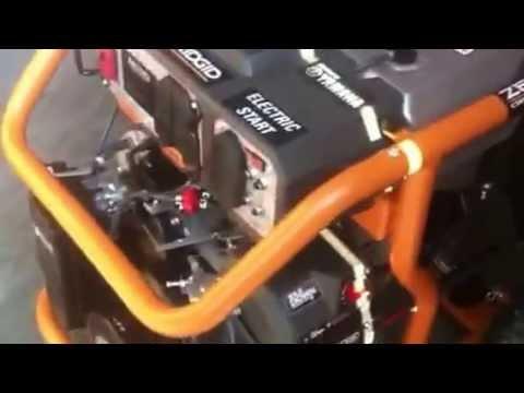 Ridgid 6800 Watt Electric Start Portable Generator