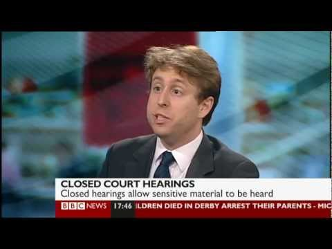 BBC News debate on the Justice and Security Bill