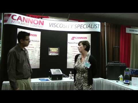 STLE 2011 Exhibitor Interview with Patricia Argiro, Cannon Instrument Co. (Part 1)