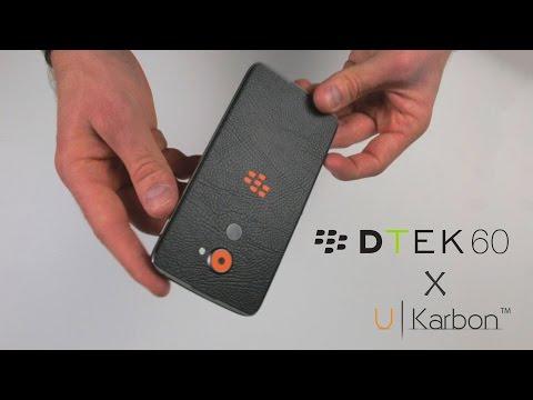 BlackBerry DTEK60 installation by UKarbon