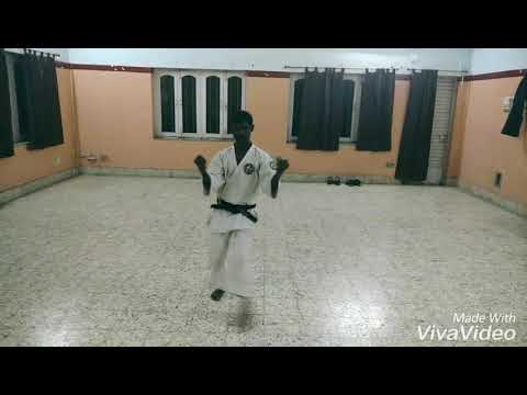 "Kata ""suparimpei"" Indian school of martial  arts ranchi"