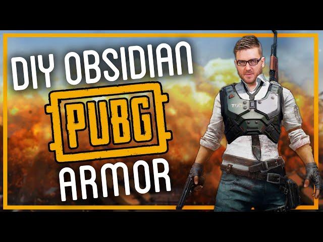 PUBG MOBILE Power Armor: Handmade from OBSIDIAN?!?