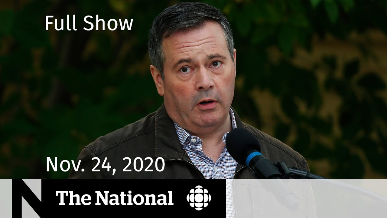 Cbc News The National Alberta Takes Action Amid Covid 19 Spike Nov 24 2020 Youtube
