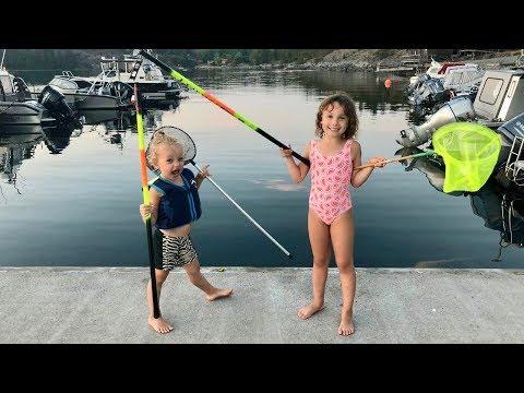 Fiske CHALLENGE förloraren får klippa håret