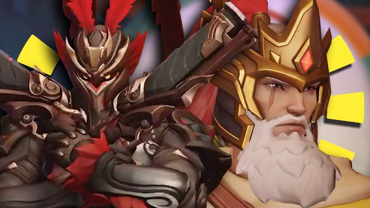 Overwatch New Legendary Lunar New Year Skins 2019 Who Is Most