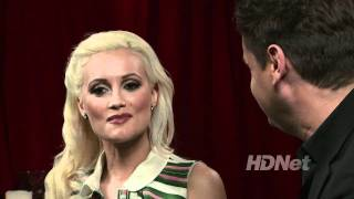 Holly Madison on HDNet's Naughty But Nice with Rob Shuter
