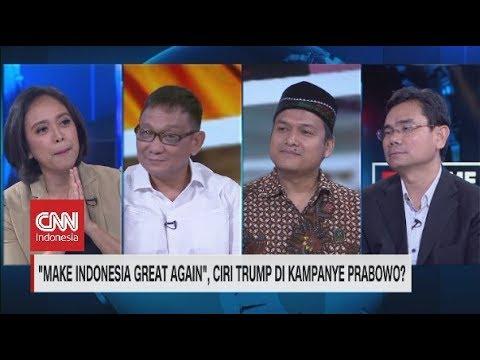 "Mirip Slogan Trump, Timses Jokowi-Ma'ruf: Ucapan Prabowo ""Make Indonesia Great Again"" Sangat Salah"