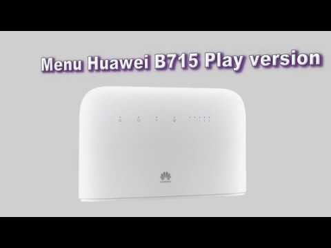 Menu B715 Play version