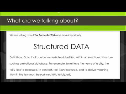 WEBINAR: How To Do Schema MarkUp 'Structured Data' For Wordpress SEO