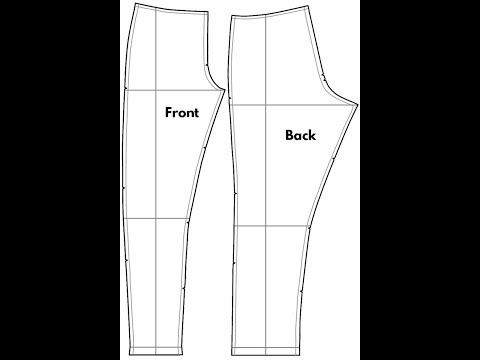 diy-how-to-make-easy-pant-/-trouser-pattern-pt-1-|-jessica-nneka