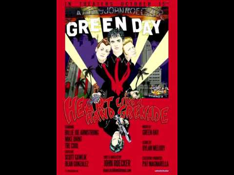 Green Day - American Idiot Alternatives Collage (Heart Like a Handgrenade)