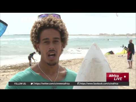 Cape Verde Island's surfing world champion riding the waves of success