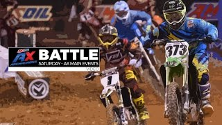 BATTLE: AX Main Event #1 - Saturday / Baltimore - AMSOIL Arenacross