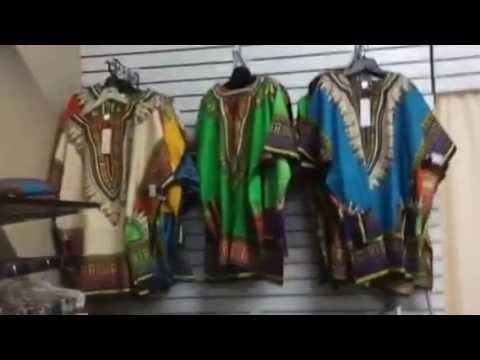 African fabrics and fashions