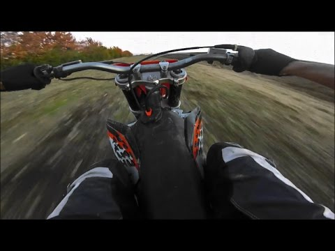 Top speed offroad KTM Sx 250 2008 - YouTube