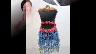 Модная одежда из резинок - платья, сумки, туфли