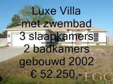 Villa met zwembad te koop in florida cape coral vastgoed florida youtube - Te koop ...