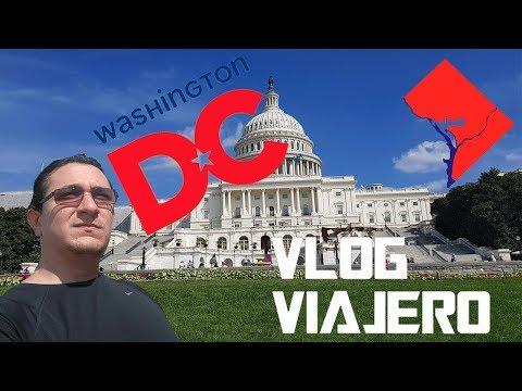Bienvenidos a Washington DC el hogar de Donald Trump | Vlog Viajero |