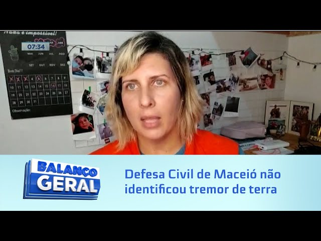 Estrondo: Defesa Civil de Maceió não identificou nenhum tremor