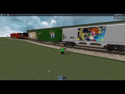 ROBLOX AWVR 777 Freight Train Derailment (Report this video to Blox News Channel)