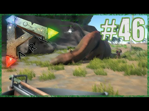 """Taming a Paraceratherium"" Ark:Survival Evolved - Episode 46 - Dino Licking!! (Ark Modded Survival)"