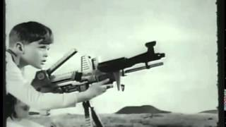1964 ДЖОННІ СІМ OMA TOY GUN COMMERCIAL 1