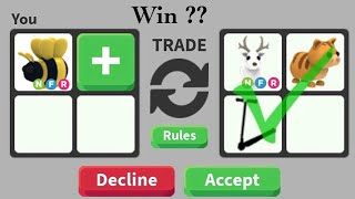 What People Trade For NEON KING BEE - Adopt me Roblox