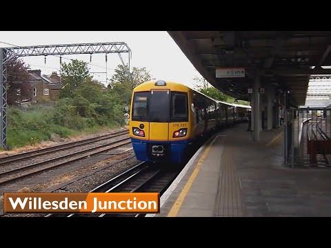 London Underground & Overground: Willesden Junction   Bakerloo - Watford DC lines